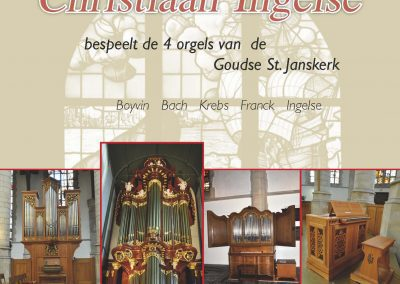 2CD op de 4 Goudse Sint Jans-orgels uitgebracht