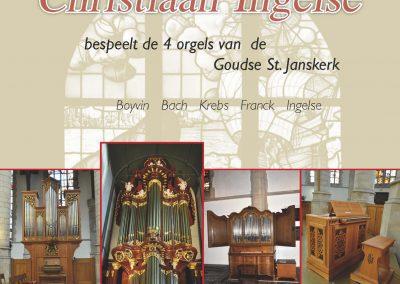 2CD op de 4 Goudse Sint Jans-orgels